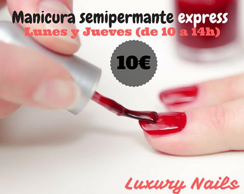 luxury nails navidad