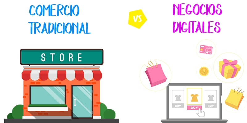 Ventajas del comercio tradicional frente al electrónico