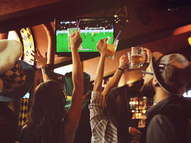 Bares para ver el fútbol en Tres Cantos
