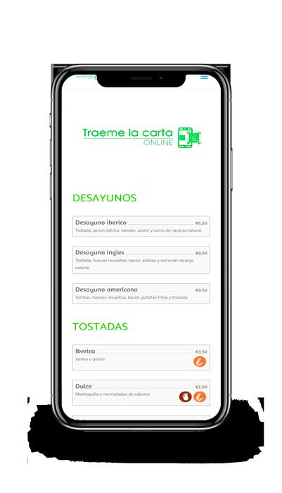 ejemplo menu sencillo