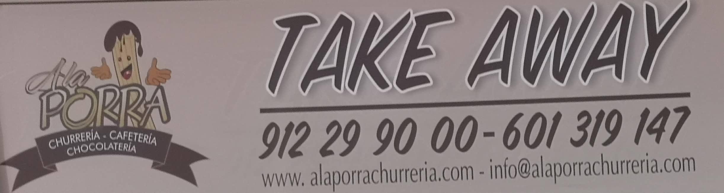 take away a la porra